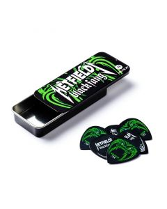 Dunlop Hetfield Black Fang Pick Tin .73mm