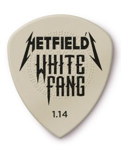 Dunlop Hetfield White Fang Custom Flow Picks 1.14MM 24 PACK PH122R1.14