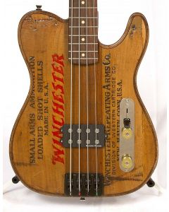 Walla Walla Guitars Maverick Pro Vintage Wood Winchester Bass