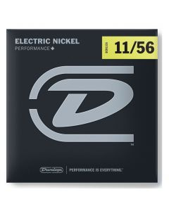 Dunlop DEN1156 Nickel Wound Electric Strings 11-56