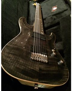 Schecter Sunset Classic II 7 USA, Trans Black 7 String