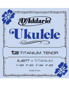 EJ87T Titanium Ukulele, Tenor