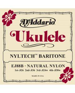 EJ88B Nyltech Ukulele, Baritone