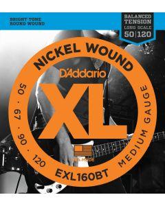 EXL160BT Nickel Wound, Balanced Tension Medium, 50-120