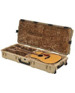 Injection Molded Guitar Case w/Wheels & TSA Latches