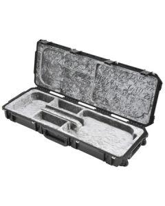 Waterproof Open Cavity Electric Guitar Case w/Wheels