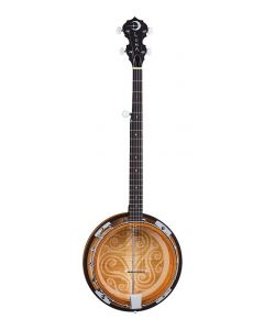 Luna Celtic 5 String Banjo