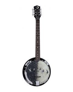 Luna Moonbird 6-String Banjo Acoustic/Electric
