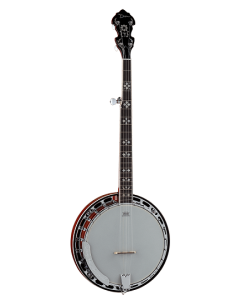 Dean Backwoods 5 Banjo Black Walnut Fretboard