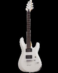 Schecter C-6 Deluxe Satin White