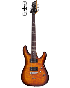 Schecter C-6 Plus Vintage Sunburst Electric Guitar