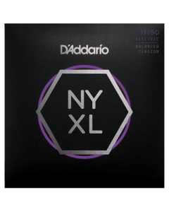 D'Addario NYXL1150BT Nickel Wound, Balanced Tension 11-50 Guitar Strings