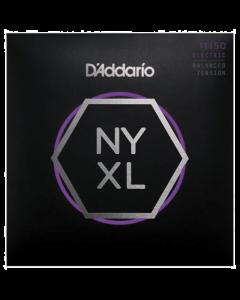 D'Addario NYXL1150BT Nickel Wound, Balanced Tension 11-50 Guitar Strings