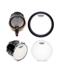 """Evans Limited Edition Knockout Pack, 22"""" Bass & 14"""" Snare"""