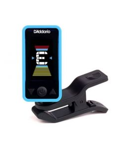D'Addario Eclipse Headstock Tuner Blue PW-CT-17BU