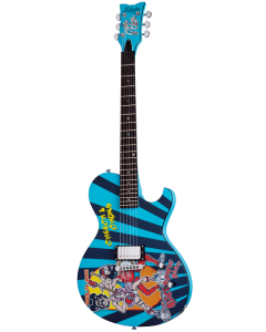 Schecter Solo-6 Cheech & Chong #2