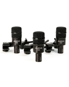 Audix D2 Trio Drum Mics