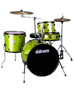 DDRUM D2 Rock Kit Lime Sparkle Drumset