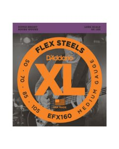 EFX160 Medium FlexSteels Long Scale Bass Strings