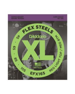 EFX165 Custom Light FlexSteels Long Scale Bass Strings