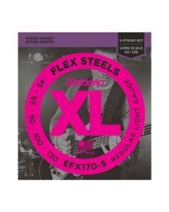 EFX170-5 FlexSteels 5 String Light Long Scale