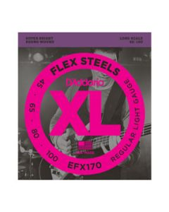 EFX170 Regular Light FlexSteels Long Scale Bass Strings
