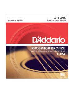 D'Addario EJ24 Phosphor Bronze True Medium Acoustic Strings
