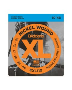 D'Addario EXL110-10P Regular Light 10-46 10 pack