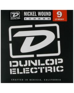 Dunlop DEN0946 Nickel Wound Light/Heavy Strings