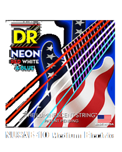 Neon Hi-Def Red White & Blue Electric NUSAE-10