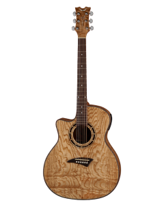 Dean Exotica Quilt Ash A/E Lefty - Gloss Natural