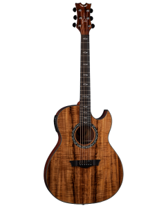 Dean Exhibition Koa Acoustic Electric Guitar