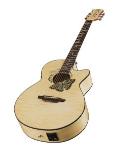 LUNA Fauna Butterfly A/E Gloss Natural Acoustic