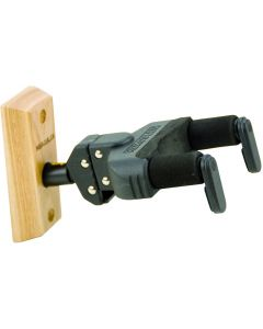 Hercules Auto Grip Guitar Hanger, Wood Base, Short Arm GSP38WB