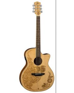 Luna Henna Oasis Acoustic Electric Select Spruce