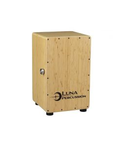 Luna Bamboo Cajon w/Travel Bag
