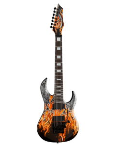 Dean Autographed Michael Batio Warrior 7 String MAB7 SOLD