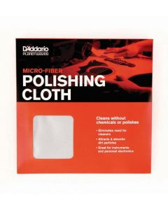 D'Addario Micro-Fiber Polish Cloth PW-MPC