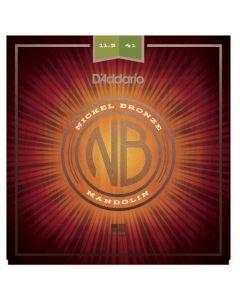 D'Addario NBM11541 Nickel Bronze Mandolin Strings, MED-Heavy