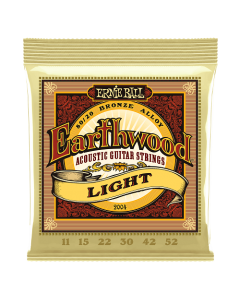 Ernie Ball 2004 Earthwood 80/20 Bronze Acoustic Strings 11 - 52 Light
