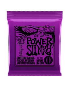 Ernie Ball 2220 Power Slinky Nickel Electric Strings 11 - 48