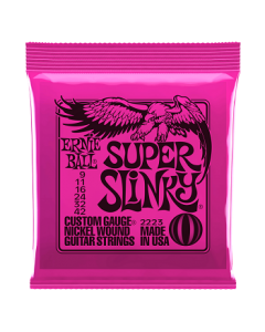 Ernie Ball 2223 Super Slinky Nickel Electric Strings 9 - 42