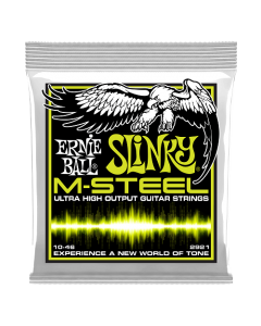 Ernie Ball 2921 M-Steel Regular Slinky Electric Strings 10 - 46