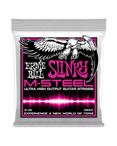 Ernie Ball 2923 M-Steel Super Slinky Electric Strings 9 - 42