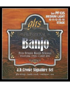GHS PF135 JD Crowe Signature Series Banjo Strings