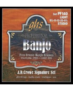 GHS PF140 JD Crowe Signature Series Banjo Strings