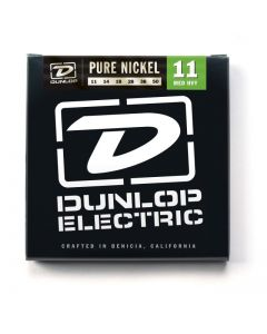 Dunlop Nickel Wound Med/Heavy 6 Pack Electrics DEN1150