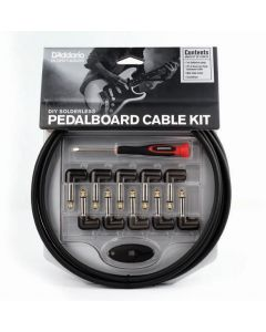 D'Addario Pedalboard Cable Kit DIY Solderless PW-GPKIT-10