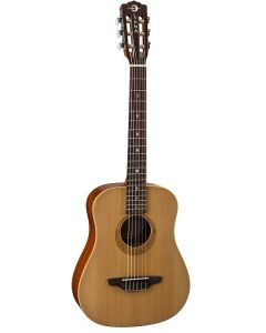 Luna Safari Nylon Spruce Travel Acoustic w/GigBag