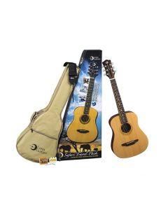 Luna Safari Muse Travel Guitar Pack